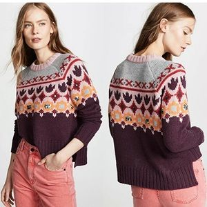 NWT Cinq a Sept Gianni Embellished Sweater M